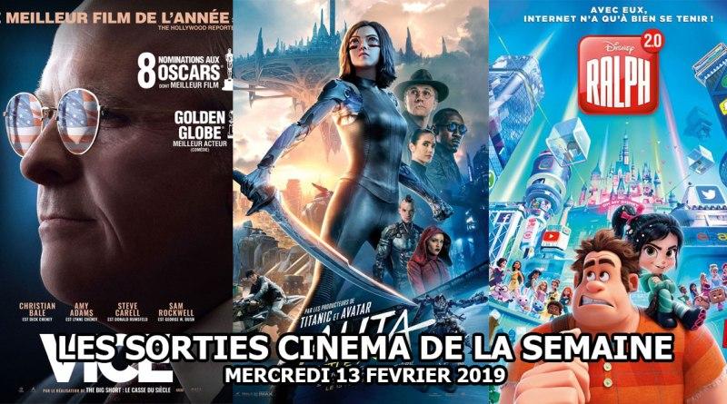 Les sorties cinéma de la semaine - Mercredi 13 février 2019