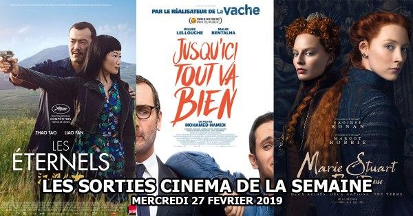 Les sorties cinéma de la semaine - Mercredi 27 février 2019