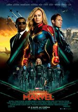 Affiche de Captain Marvel (2019)