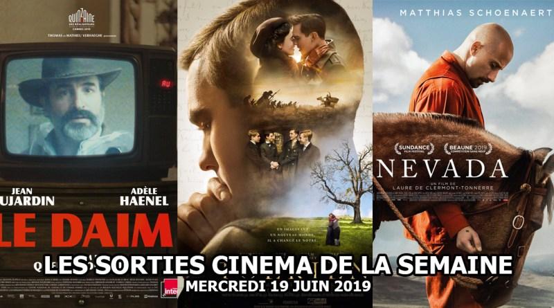 Les sorties de la semaine - mercredi 19 juin 2019