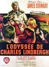 Affiche de L'Odyssée de Charles Lindbergh (1957)