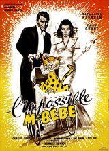Affiche de L'Impossible Monsieur Bébé (1938)