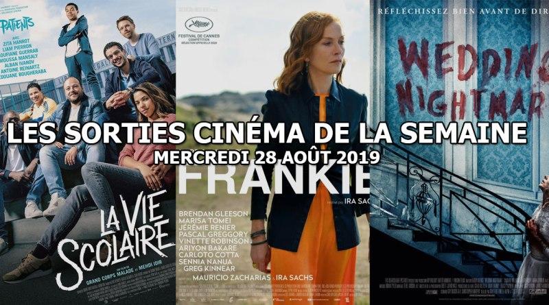Les sorties cinéma de la semaine - mercredi 28 août 2019