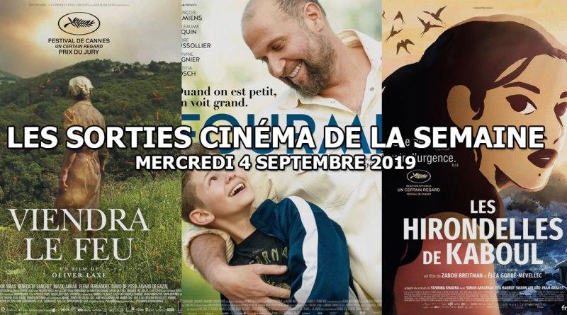 Les sorties cinéma de la semaine - mercredi 4 septembre 2019