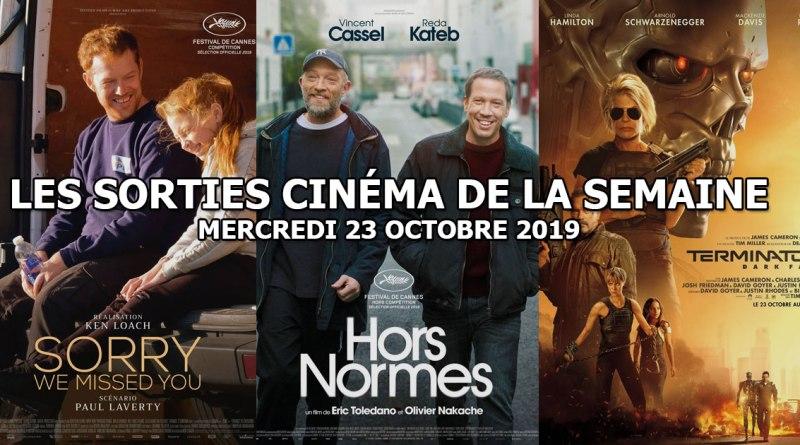 Les sorties cinéma de la semaine - mercredi 23 octobre 2019