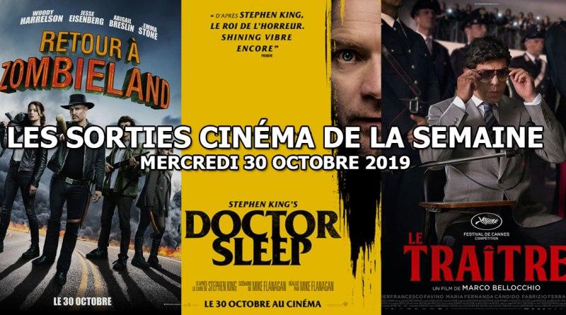 Les sorties cinéma de la semaine - mercredi 30 octobre 2019