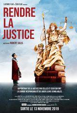 Affiche de Rendre la justice (2019)