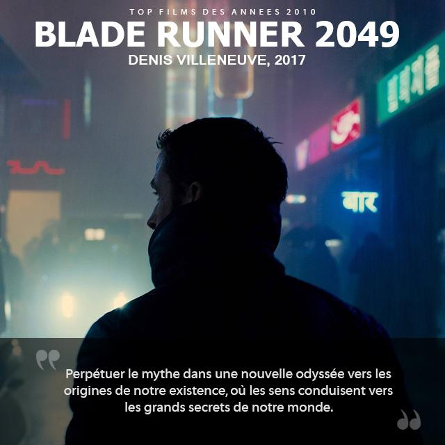 Top des années 2010 - Blade Runner 2049