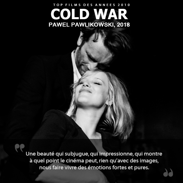 Top des années 2010 - Cold War