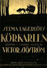 Affiche de La Charrette Fantôme (1921)