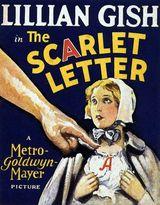 Affiche de La Lettre Écarlate (1926)