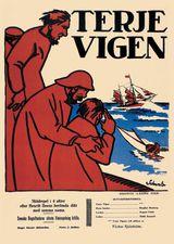 Affiche de Terje Vigen (1917)