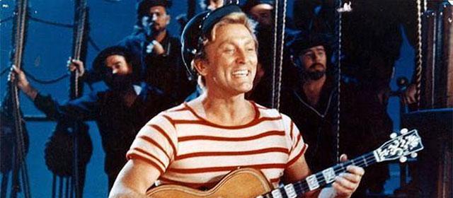 Kirk Douglas dans 20000 lieues sous les mers (1954)