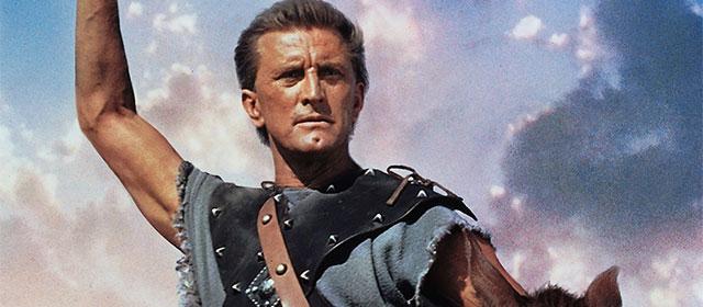 Kirk Douglas dans Spartacus (1960)