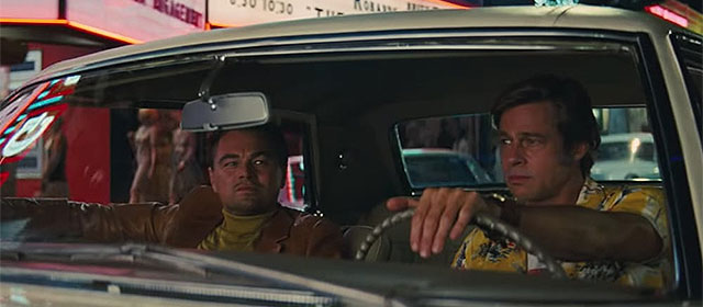 Leonardo DiCaprio et Brad Pitt dans Once Upon a Time... in Hollywood (2019)