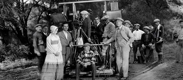 Sur le tournage de La Lettre Écarlate (1926)