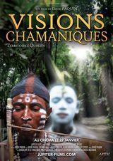 Affiche de Visions Chamaniques : territoires oubliés (2020)