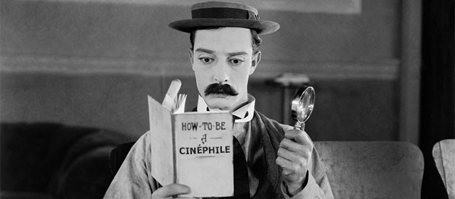 Buster Keaton dans Sherlock Jr. (1924) - Photo non contractuelle