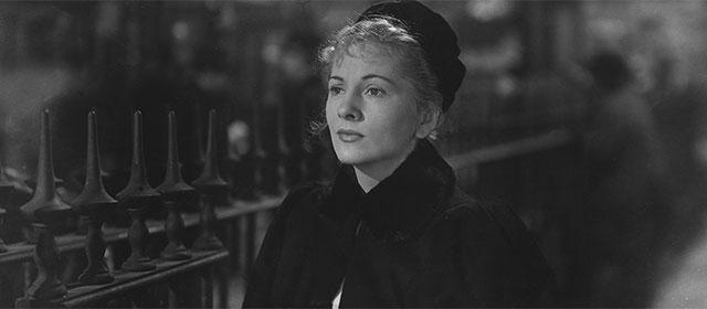 Joan Fontaine dans Lettre d'une inconnue (1948)