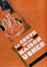 Affiche de La Chute de la maison Usher (1928)