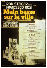 Affiche de Main basse sur la ville (1963)