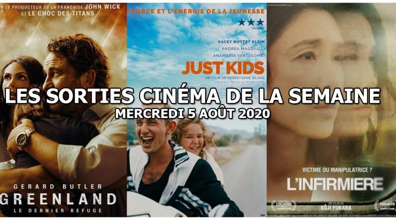Les sorties cinéma de la semaine - mercredi 5 août 2020