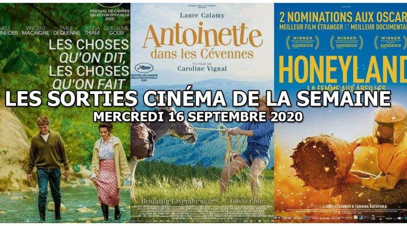 Les sorties cinéma de la semaine - mercredi 16 septembre 2020