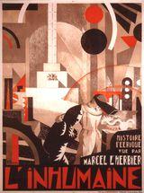 Affiche de L'Inhumaine (1924)
