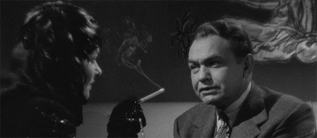 Joan Bennett et Edward G. Robinson dans La Femme au portrait (1944)