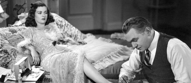 Joan Bennett et Edward G. Robinson dans La Rue Rouge (1945)