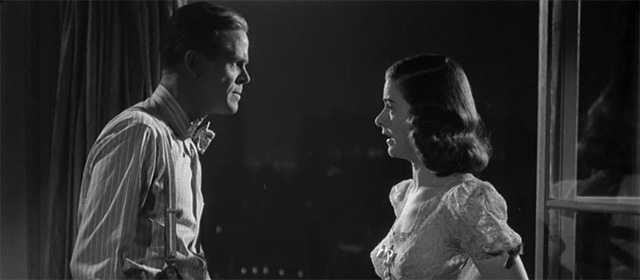 Dan Duryea et Joan Bennett dans La Rue Rouge (1945)
