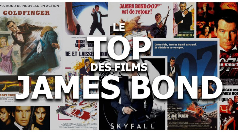 Le Top des films James Bond