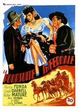 Affiche de La Poursuite infernale (1946)