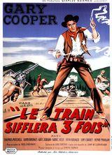 Affiche de Le Train sifflera trois fois (1952)