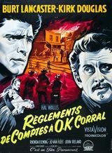 Affiche de Règlement de comptes à OK Corral (1957)