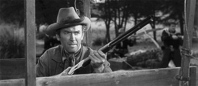 James Stewart dans Winchester 73 (1950)