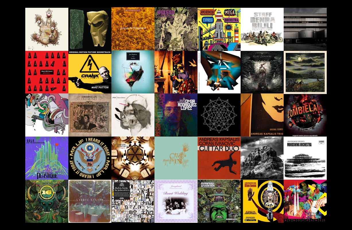 50 Unheralded Albums from 2009