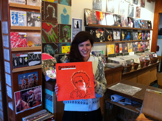 Melanie holds Destroyer's City of Daughters