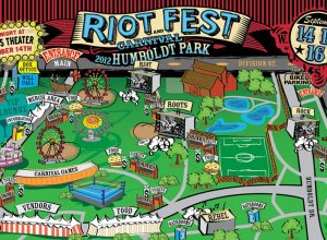 Riot Fest and Carnival Chicago 2012