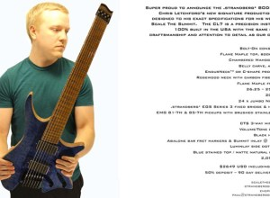 Scale the Summit signature guitar