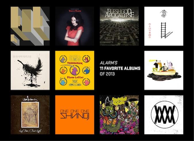 ALARM's 11 Favorite Albums of 2013