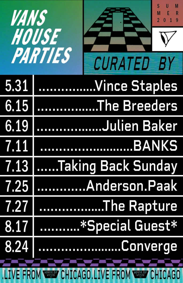 vans house parties chicago