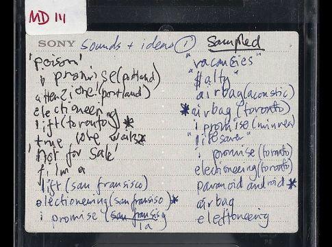 radiohead stolen ok computer sessions