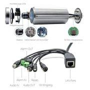 INSTAR IN-5907HD IP-Kamera Qualität Verarbeitung