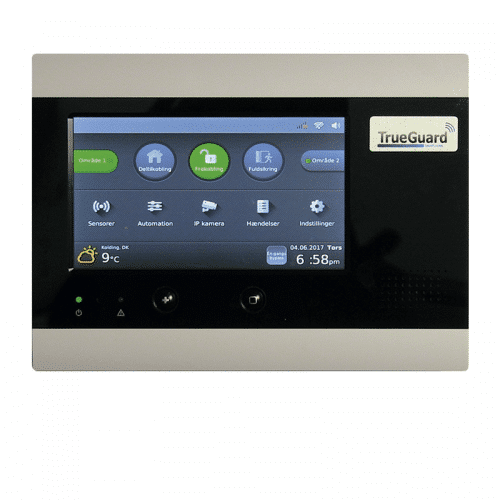 Kontrolpanel / styrebox TrueGuard Alarm