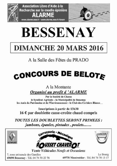 ALARME-Tract concours de belote