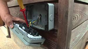 Outdoor Plug Installation Castle Cary Somerset BA7