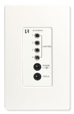 Russound IRB6 SaphIR Wall-Mounted Connecting Block White