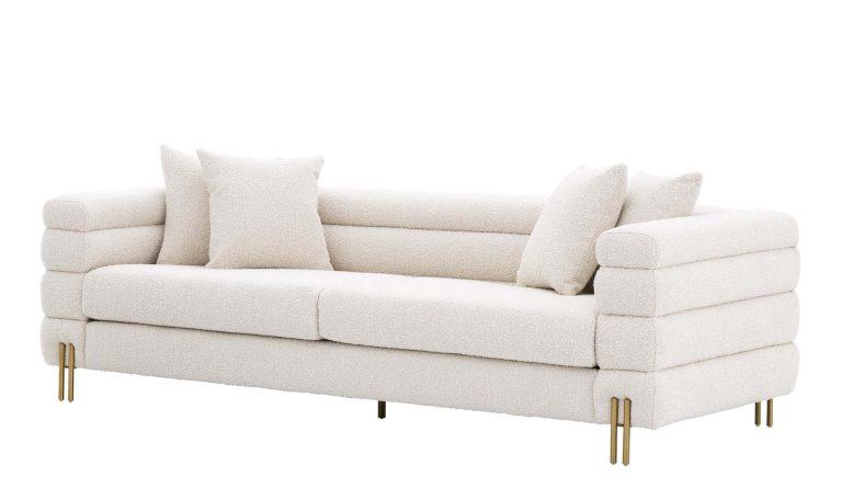Eicholtz white sofa York