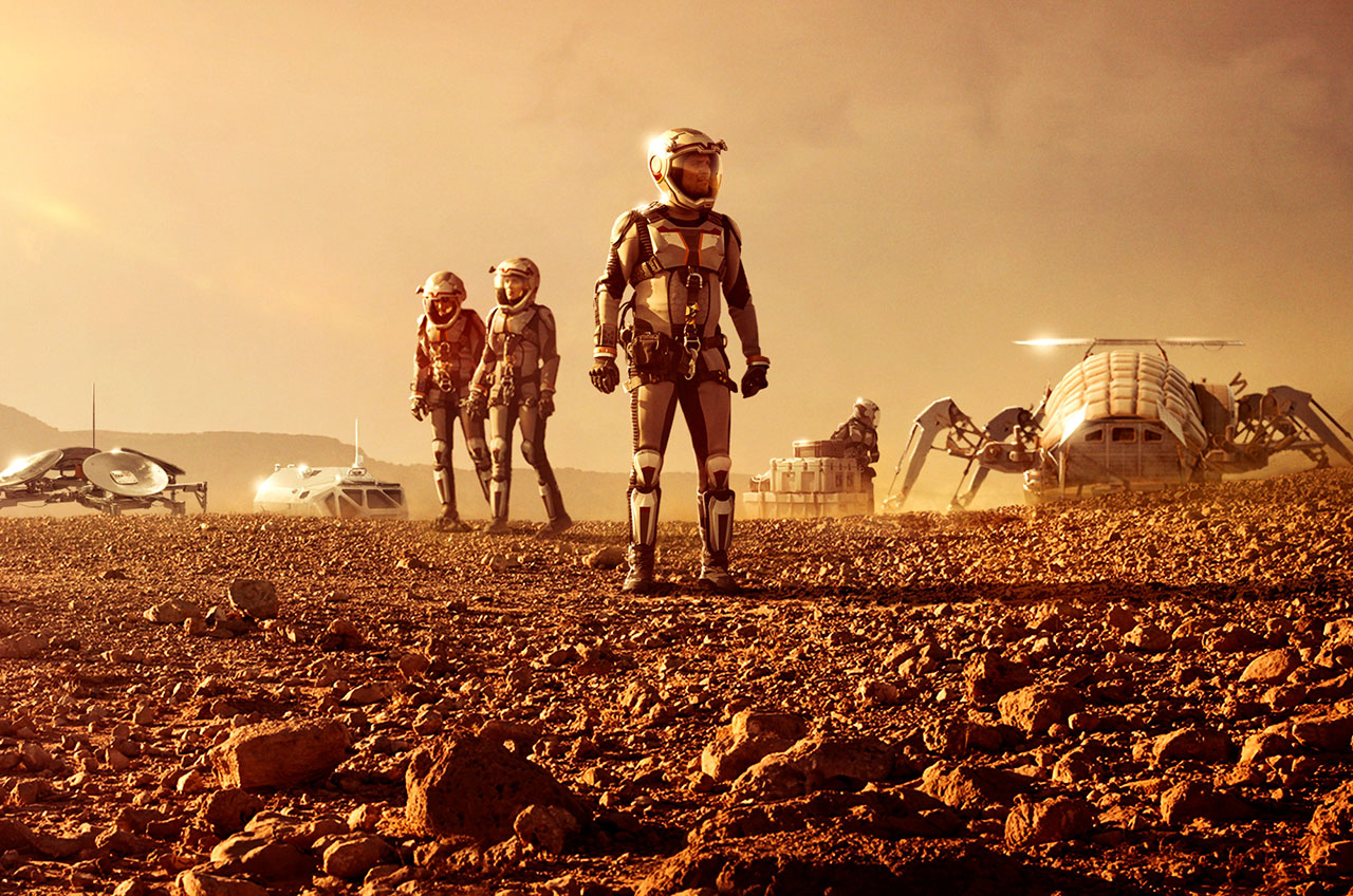 The Christmas Near Misses National Geographic S Mars